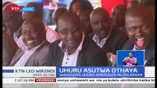 Rais Uhuru asutwa na viongozi wa Mlima Kenya