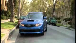 Subaru_WRX_STI_2008 и голуби