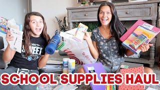 BACK TO SCHOOL SUPPLIES HAUL 2020! WHAT DID WE GET? EMMA AND ELLIE