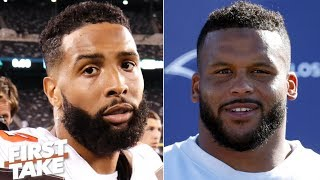 Odell Beckham or Aaron Donald: Who needs to have a bigger game?   First Take