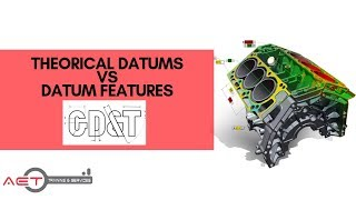 What's the difference on what Datum represents on drawing & physical features on your part? GD&T