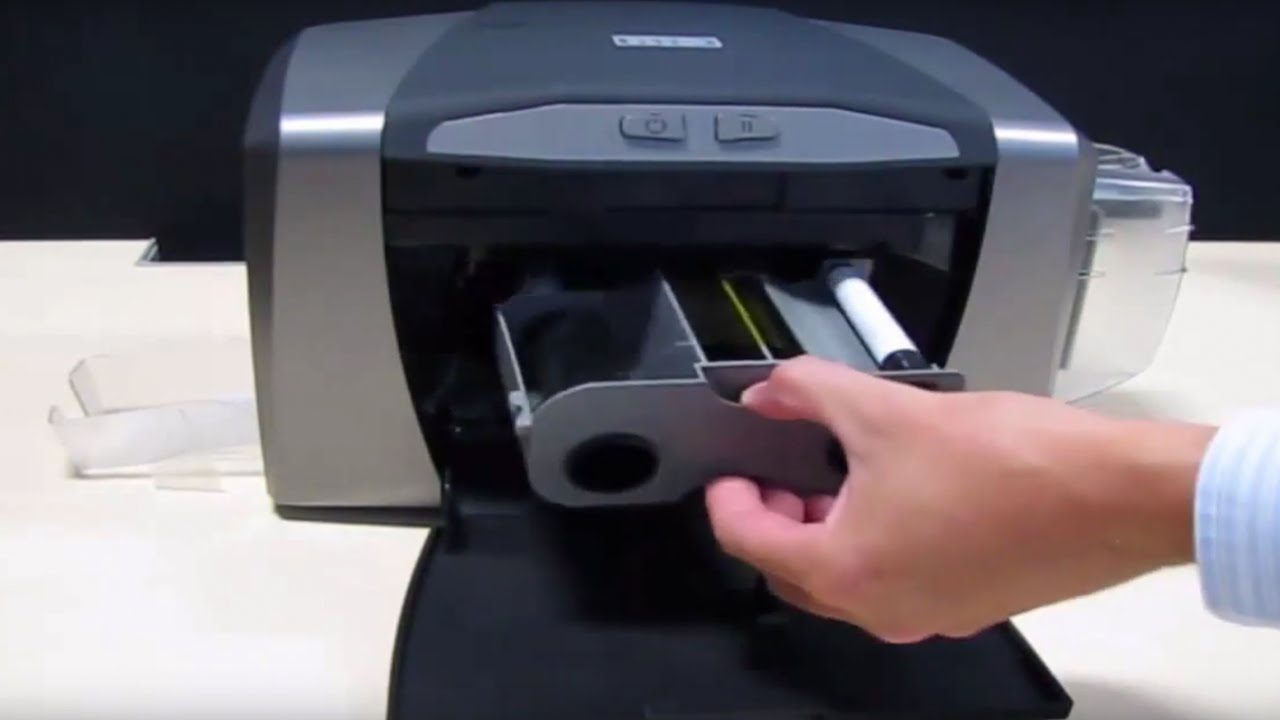 Fargo DTC1250e - How to Clean Printer