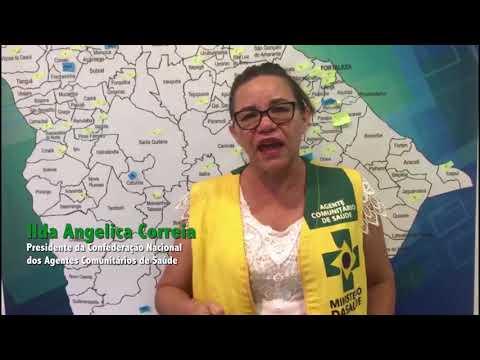AGENTES DE SAÚDE REAFIRMAM CONFIANÇA EM ANDRÉ MOURA
