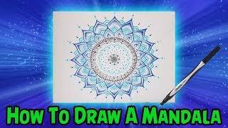 How To Draw A Mandala