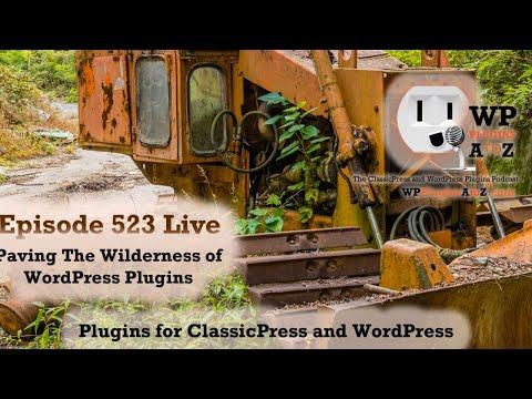 Paving The Wilderness of WordPress Plugins