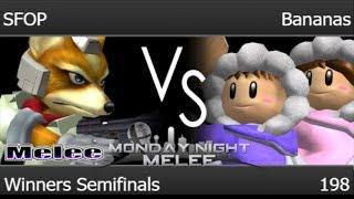 MNM 198 - SFOP (Fox) vs MB | Bananas (ICs) Winners Semifinals - Melee