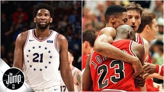 Scottie Pippen to sick Joel Embiid: Do what I told Michael Jordan to do before 'flu game' | The Jump