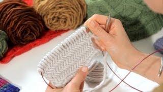 How To Do A Herringbone Stitch   Knitting