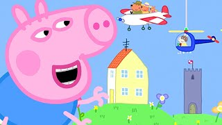 Peppa Pig Official Channel | Ahhh! George Pig Becomes a Giant at the Tiny Land
