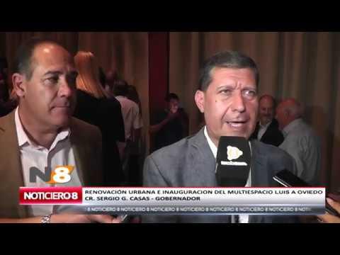 INAUGURACIÓN DEL MULTIESPACIO LUIS ANGEL OVIEDO