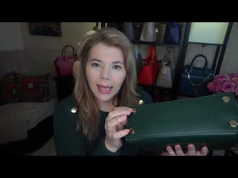 Michael Kors Review of Whitney what's inside my bag with mod shots Welcome MK Ladies & Gentlemen