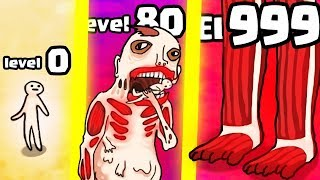 HOW STRONG IS THE HIGHEST LEVEL TITAN HUMAN EVOLUTION? (9999+ BOSS) l Titan Evolution Party New Game