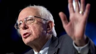 Bernie Sanders attacking Wall Street?