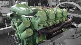 Motorinstandsetzung Mercedes-Benz SK 1844 OM442 LA,Reparatur, Überholung