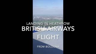 Landing in a sunny London! British Airways A321 - Video Youtube