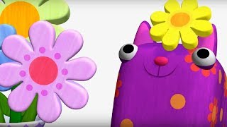 Деревяшки -Угощение + Звездочка⭐ - обучающие мультфильмы для малышей 0-4