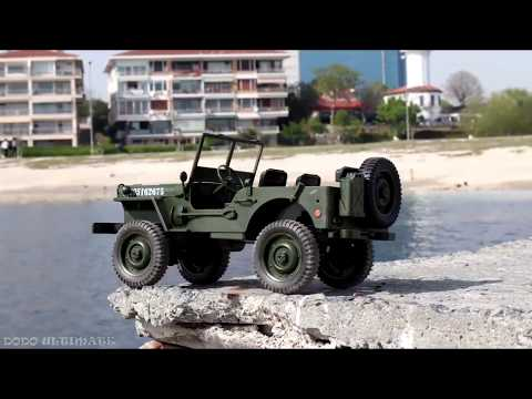 World War 2 Vintage USA Military RC Jeep - 1:10 Scale Most Realistic RC Vehicle Ever by Banggood