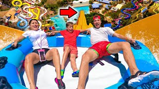 Last to LEAVE WATERPARK Wins $10,000! (INSANE CHALLENGE) | The Royalty Family