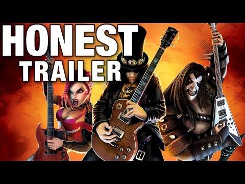 GUITAR HERO (Honest Game Trailers)