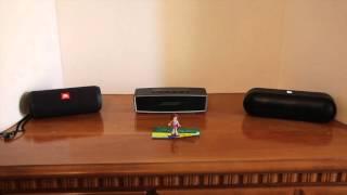 JBL Flip 3 vs Bose Soundlink Mini ii vs Beats Pill+