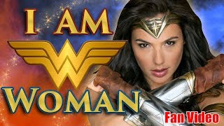 I AM (Wonder) WOMAN! || Jordin Sparks & Wonder Woman Mash-Up