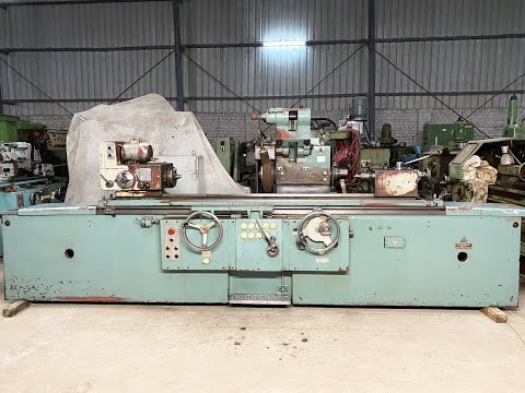TOS BHU 32/1500 Universal Cylindrical Grinder