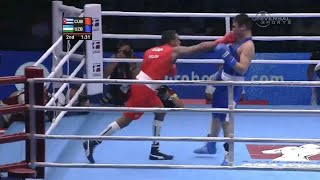 Lopez becomes 75kg Boxing World Champ - Universal Sports