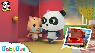 Baby Panda's Fire Evacuation | Super Firefighter Rescue Team | Kids Safety Tips | BabyBus