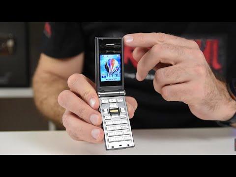 Первый в мире со сканером отпечатка - Pantech GI100 (ретро обзор в 2020 году)/ Арстайл /