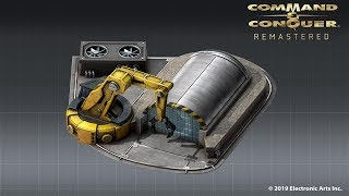 Command And Conquer Remastered Update - First Art Preview The Construction Yard Structure