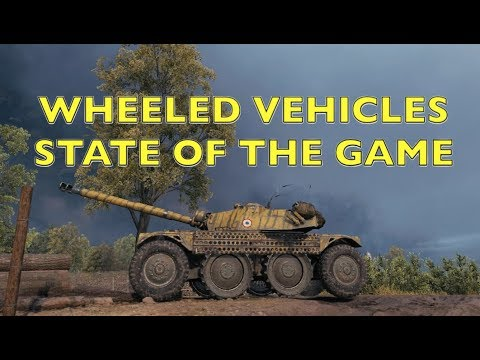 WOT - Wheeled Vehicles & State of The Game | World of Tanks