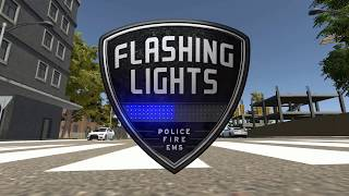 VideoImage2 Flashing Lights - Police, Fire, EMS