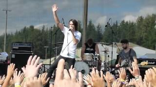 Disciple; Dear X (You Don't Own Me) Long Testimony Intro.  Creation Fest West 2011