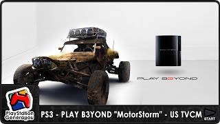 "PlayStation 3 - PLAY B3YOND ""MotorStorm"" - US TV Commercial (2006)"