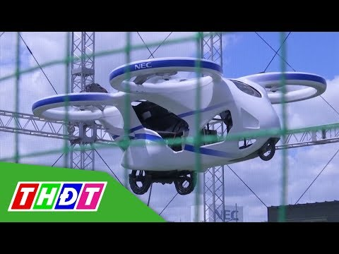 Cận cảnh mẫu xe bay của người Nhật Bản