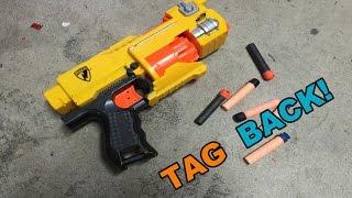 TAG BACK! - Nerf N-Strike Barricade RV-10