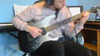 The Robot with the Human Hair pt 4 - Dance Gavin Dance (Guitar Cover)