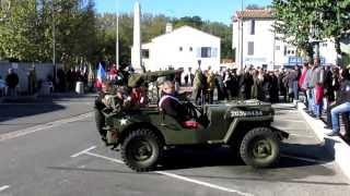 preview picture of video 'Commémoration de l'Armistice du 11 novembre 1918 à Saint Victoret - 2013'