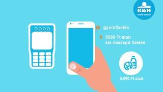K&H mobiltárca – fizetési módok