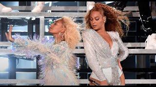 Beyoncé & Solange dancing in Homecoming 🐝💛💖