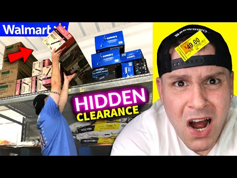 $1,272 OFF ... shop until it's FREE → Walmart Hidden Clearance (no coupons!) Secret Savings & Deals