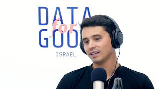 Israël Demain #53 - Data for Good Israel, la science pour résoudre des problèmes sociaux