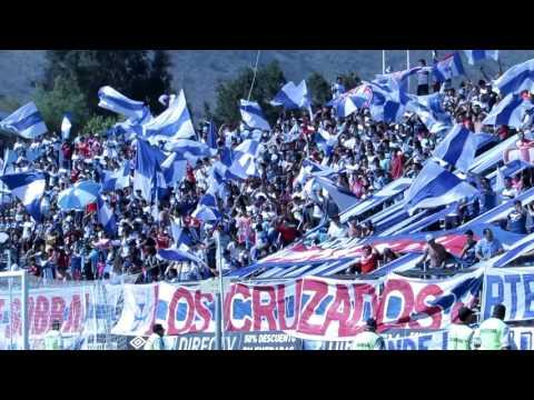 """""""BANDERAZO """"Católica locura enfermedad"""" UC - CC CLAUSURA 2015-16"""" Barra: Los Cruzados • Club: Universidad Católica"""