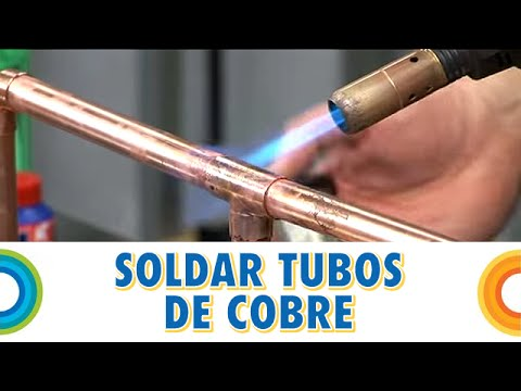 Soldar tubos de cobre (Bricocrack)
