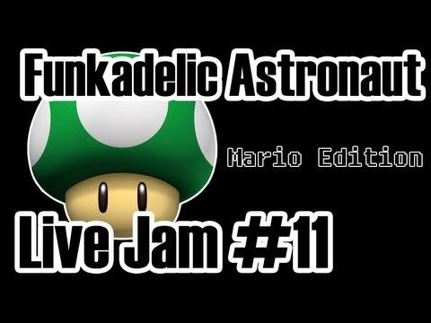 Funkadelic Astronaut - Live Jam #11 (Mario Bros. Edition) [Live Looping w/ Ableton Live]