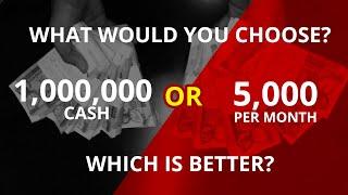 1 Million Pesos or 5,000 per month? - Investing Philippines