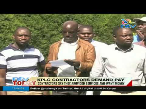 KPLC contractors demand pay amid allegations of collusion with officials to scam the company