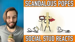 Social Stud Reacts | Scandalous Popes of the Middle Ages (Sam O'Nella Academy)
