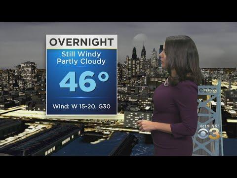 Philadelphia Weather: Wind Advisory In Effect