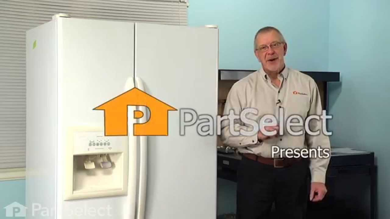 Replacing your Whirlpool Refrigerator Refrigerator Dispenser Overflow Grille
